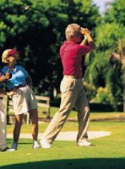 Golf course retirement living in Florida